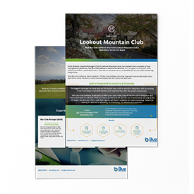 Lookout Mountain Case Study by Buz Club Software